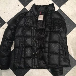 Moncler jacket black size 5